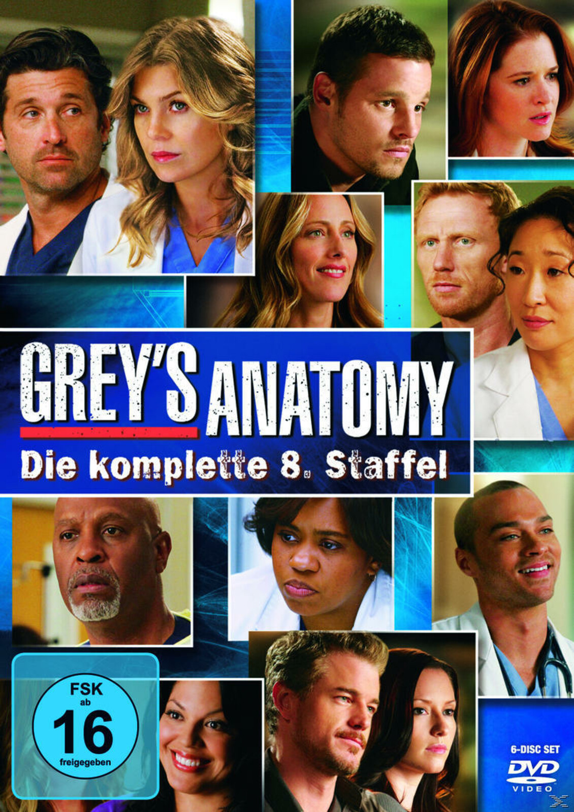 Grey\'s Anatomy - Staffel 8 [DVD] | eBay