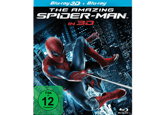 The Amazing Spider-Man Action 3D BD&2D BD, Blu-Ray