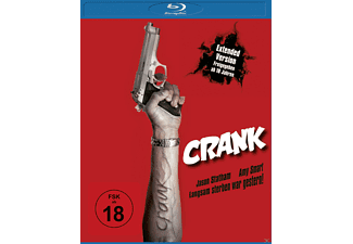 Crank Extended Version Action Blu-ray