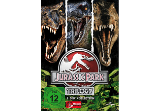 Jurassic Park - Trilogy (3 DVDs) Box Action DVD