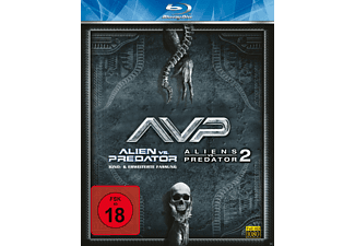 Alien Vs. Predator 1 + 2 Horror Blu-ray