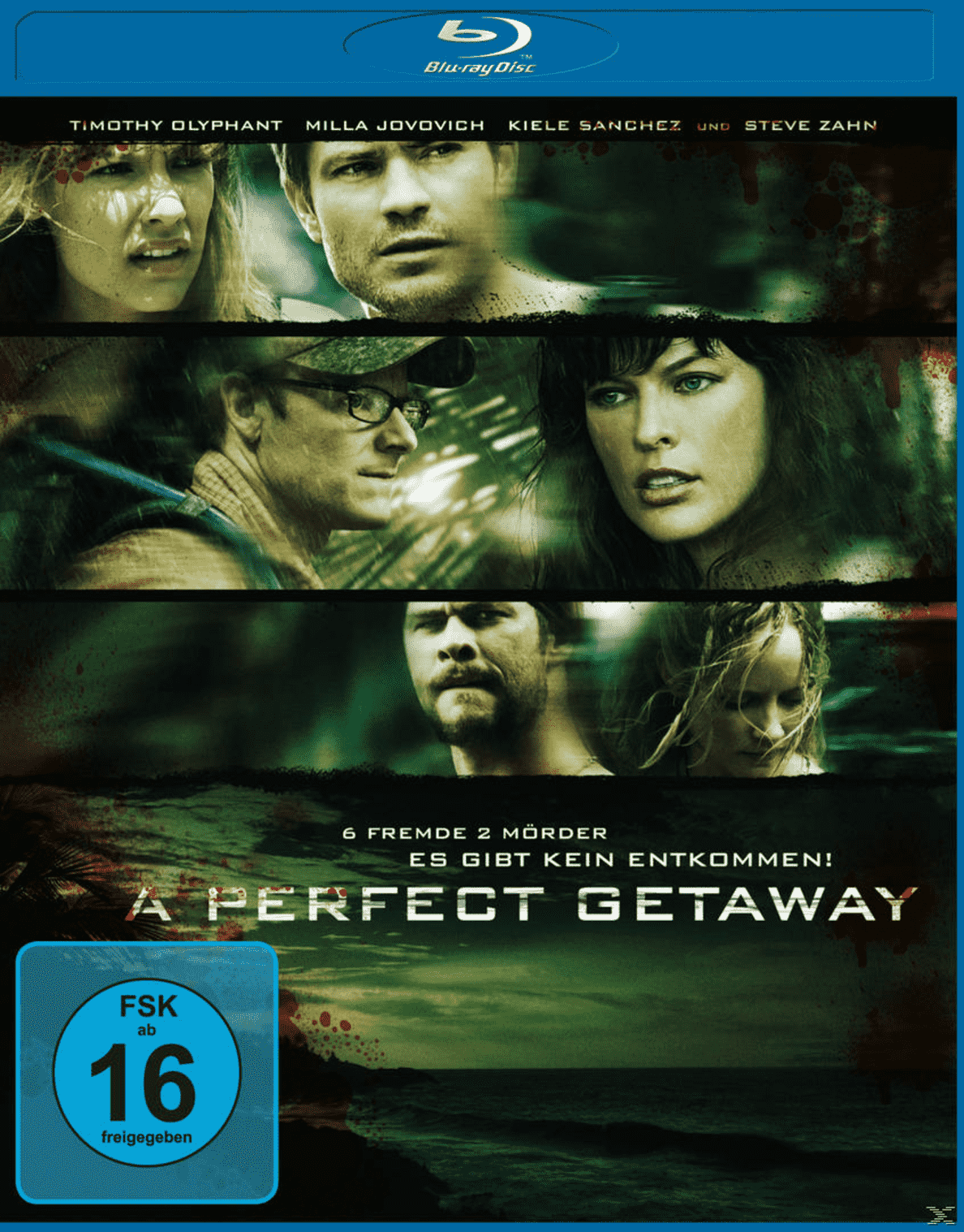 A Perfect Getaway - (Blu-ray)