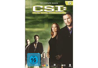 CSI: Crime Scene Investigation - Staffel 5 - (DVD)