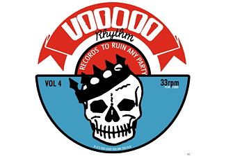 VARIOUS - Voodoo Rhythm Compilation Vol.4 - (CD)