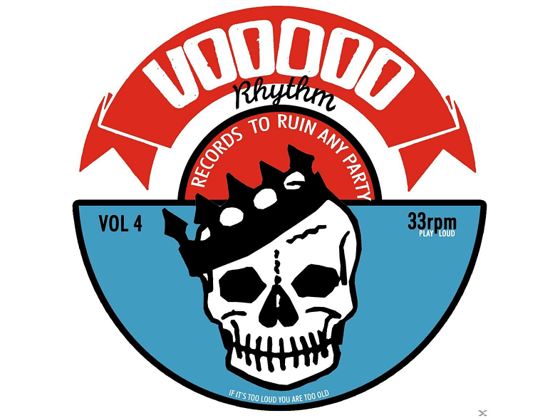 VARIOUS - Voodoo Rhythm Compilation Vol.4 [CD]