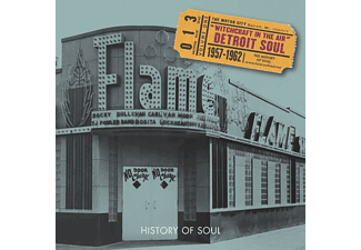 VARIOUS - Witchcraft In The Air (Detroit Soul) - (CD)