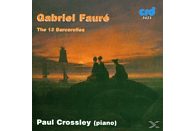 Paul Crossley - Faure Barcarolles [CD]