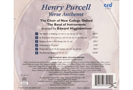 Edward/choir Of New College Oxford Higginbottom - Purcell:Verse Anthems [CD]