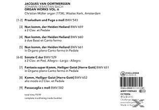 Jacques Van Oortmerssen - Organ Works Vol.6 - (CD)