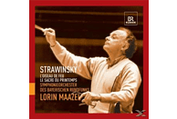 Lorin & Br So Maazel, Lorin/sobr Maazel - Feuervogel/Sacre Du Printemps [CD]