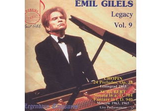 Emil Gilels, Moscow Philharmonic Orchestra - Legendary Treasures Vol.9 - (CD)