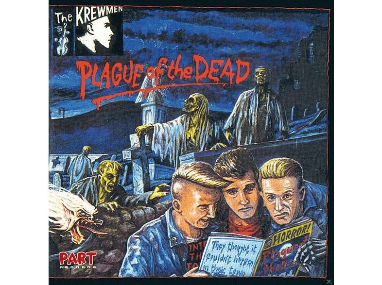 The Krewmen - Plague Of The Dead [CD]