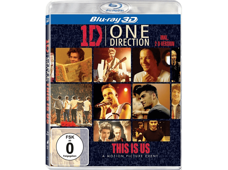 - One Direction - This is us [3D Blu-ray]