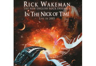 Rick Wakeman - In The Nick Of Time-Live 2003 (Remastered Edit.) - (CD)
