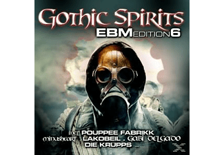 VARIOUS - Gothic Spirits Ebm Edition 6 - (CD)