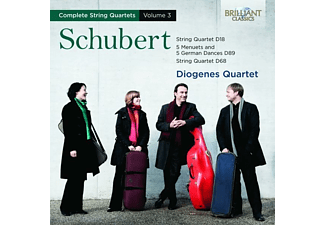 Diogenes Quartet - Complete String Quartets Vol.3 - (CD)