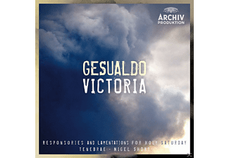 Nigel Short, Tenebrae - Gesualdo Victoria - (CD)