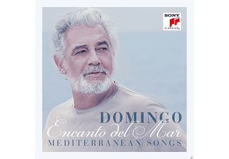 Plácido Domingo - Encanto Del Mar-Mediterranean Songs - (CD)