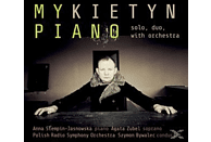 Stempin-Jasnowska/Zubel/Bywalec - Piano solo,duo,with Orchestra [CD]