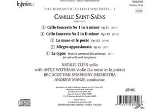 Natalie Clein;Bbc Scottish Symphony Orchestra - The Romantic Cello Concerto 5 - (CD)