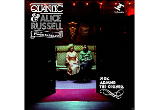 Quantic, Alice Russell, The Combo Bárbaro - Look Around The Corner - (EP (analog))