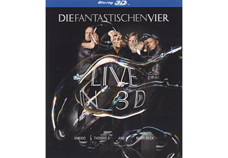 Die Fantastischen Vier - DIE FANTASTISCHEN VIER - LIVE IN 3D - (Blu-ray)