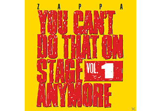 Frank Zappa - You Can't Do That On Stage Anymore, Vol.1 - (CD)