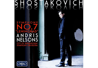 "Andris Nelsons, City Of Birmingham Symphony Orchestra - 7.Sinfonie C-Dur op.60 ""Leningrad"" - (CD)"