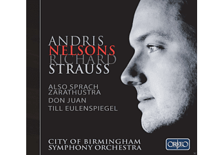 City Of Birmingham Symphony Orchestra - Also sprach Zarathustra / Don Juan / Till Eulenspiegel - (CD)