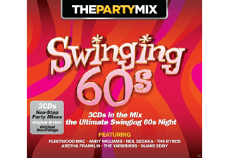 VARIOUS - The Party Mix Swinging 60s [CD]