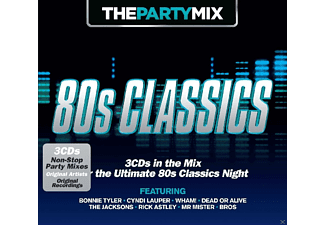 VARIOUS - The Party Mix: 80's Classics - (CD)