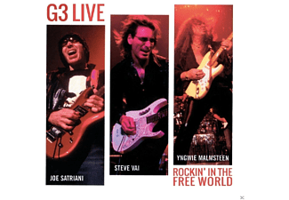 G3 - Live: Rockin' In The Free World - (CD)