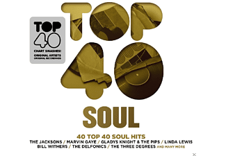 VARIOUS - Top 40-Soul - (CD)