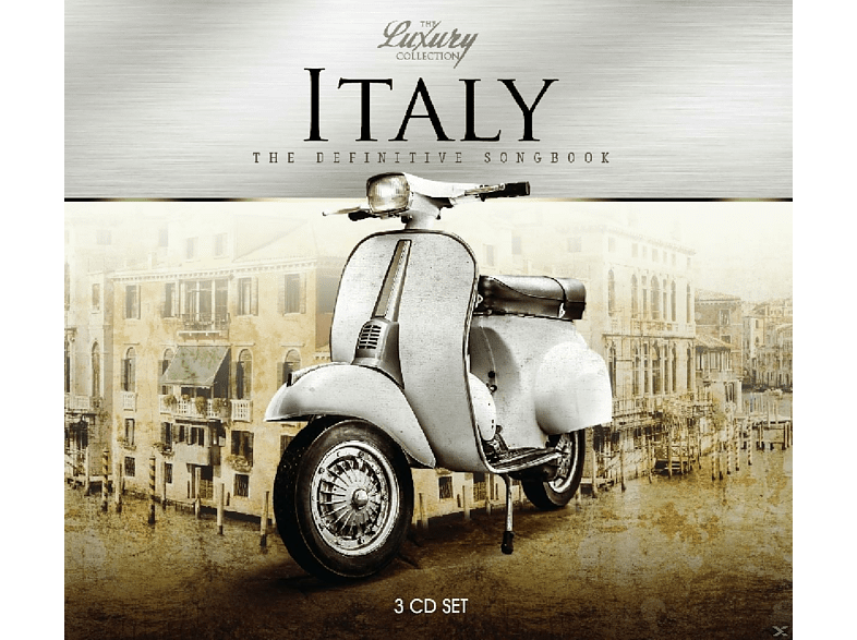VARIOUS - Italy-Luxury Trilogy [CD]