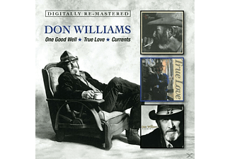 Don Williams - One Good Well/True Love/Currents [CD]
