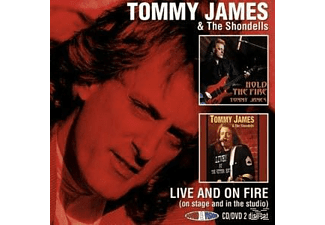 Tommy James & the Shondells - Live And On Fire-On Stage And In The Studio [CD + DVD Video]