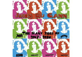 VARIOUS, John Du Cann - The Many Sides Of 1967-1980 [CD]