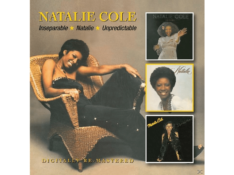 Natalie Cole - Inseperable/Natalie/Unpredictable [CD]