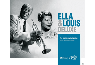 Louis Armstrong, Ella Fitzgerald - Anthology Collection - (CD)