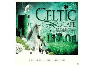 VARIOUS - Celtic Cafe (Deluxe Collection) - (CD)