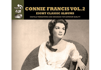 Connie Francis - 8 Classic Albums 2 [CD]