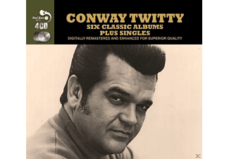 Conway Twitty - 6 Classic Albums Plus - (CD)