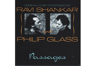 Ravi Shankar, Philip Glass - Passages - (CD)