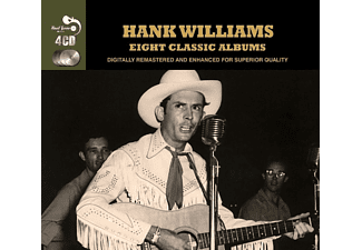 Hank Williams - 8 Classic Albums - (CD)