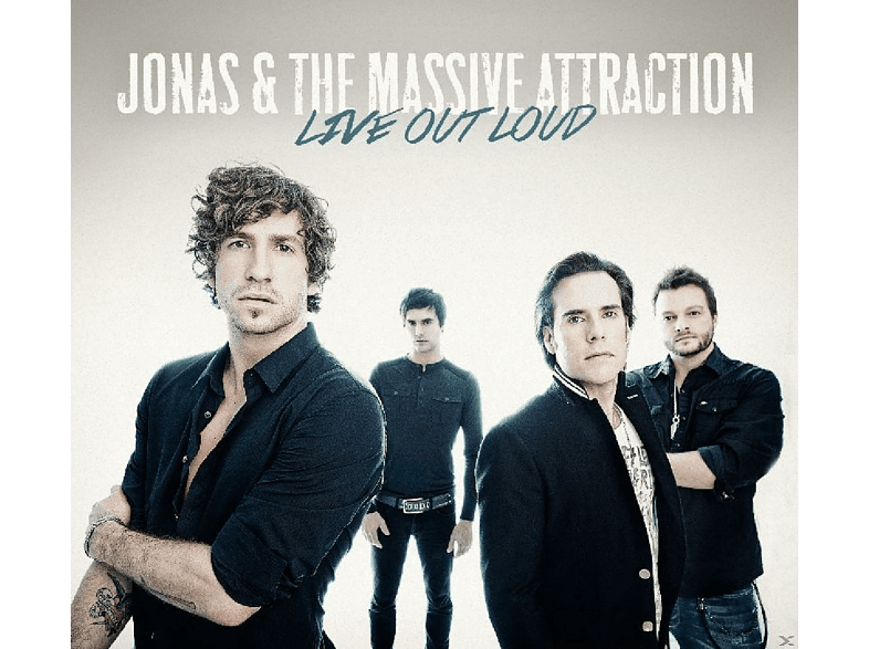 Jonas & The Massive Attraction - Live Out Loud [CD]