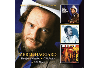Merle Haggard - Epic Collection/Chill Factor/5:01 Blues - (CD)