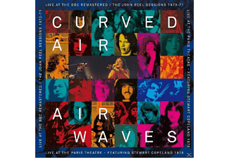 Curved Air - Airwaves-Live At BBC - (CD)