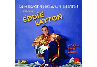 Eddie Layton - Great Organ Hits - (CD)