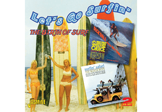VARIOUS - Let's Go Surfin' - (CD)
