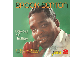 Brook Benton - Let Me Sing & I'm Happy - (CD)